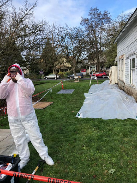 Lead Paint Removal in Downtown Corvallis
