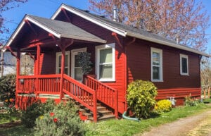 Exterior Painting of a Corvallis home